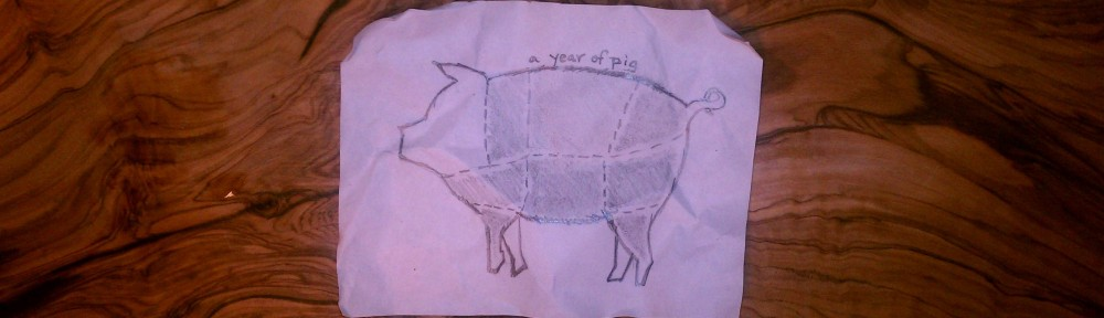 a year of pig